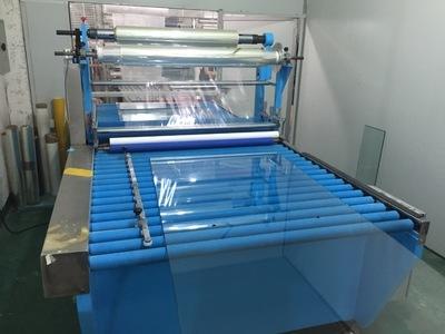 玻璃貼膜機 多層板PVC全自動貼面機高效率高質量大板貼紙機