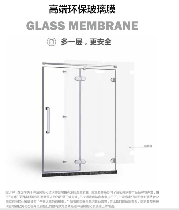 高端环保玻璃膜